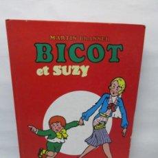 Cómics: BICOT ET SUZY. MARTIN BRANNER. EDITORIAL ARTEFACT. 1986. VER FOTOGRAFIAS ADJUNTAS. Lote 155575082