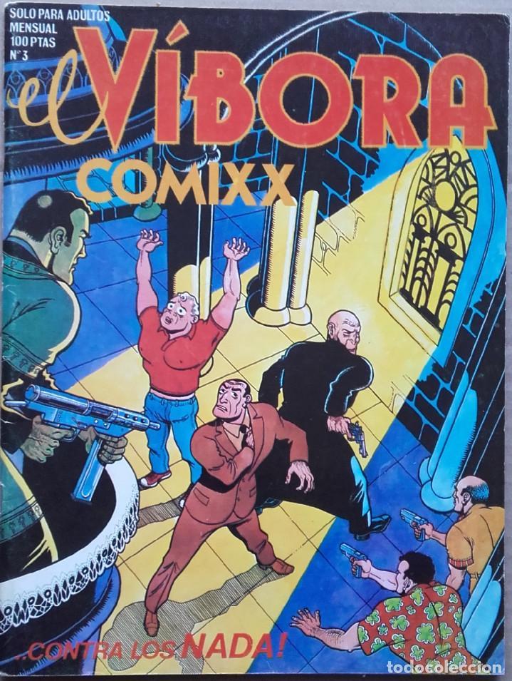 EL VÍBORA Nº 3 1980 (Tebeos y Comics - La Cúpula - El Víbora)