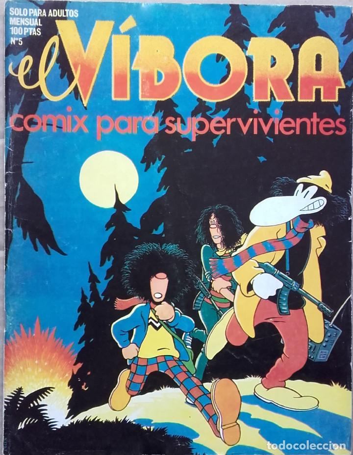 EL VÍBORA Nº 5 1980 (Tebeos y Comics - La Cúpula - El Víbora)