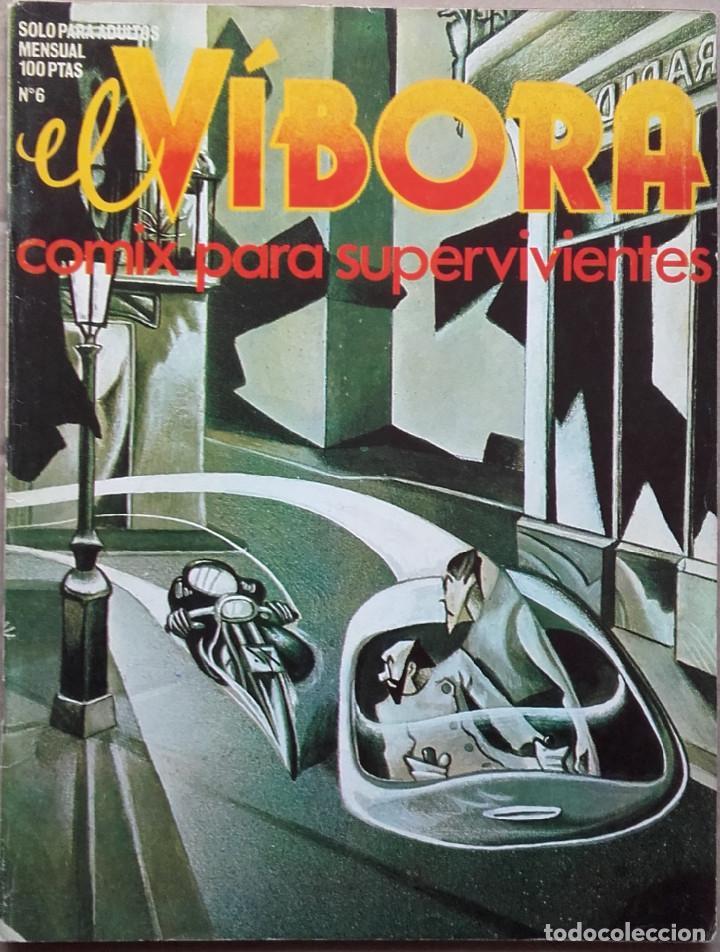 EL VÍBORA Nº 6 1980 (Tebeos y Comics - La Cúpula - El Víbora)
