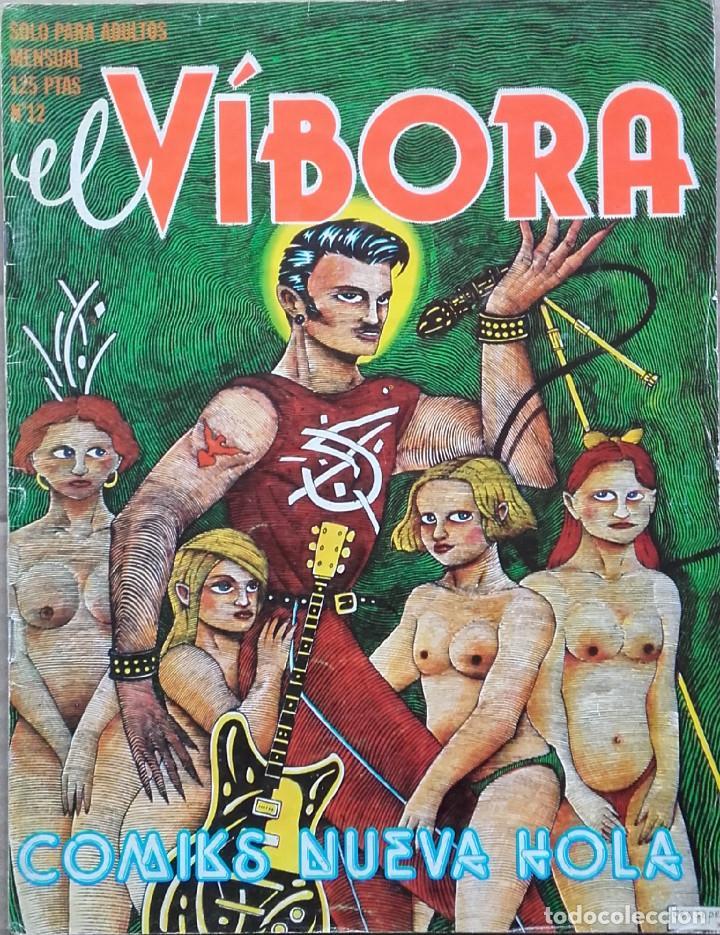 EL VÍBORA Nº 12 1980 (Tebeos y Comics - La Cúpula - El Víbora)