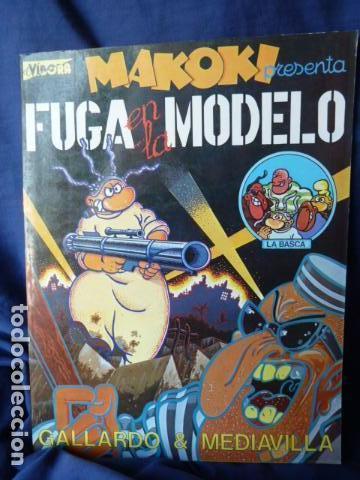 MAKOKI PRESENTA LA FUGA EN LA MODELO (Tebeos y Comics - La Cúpula - El Víbora)