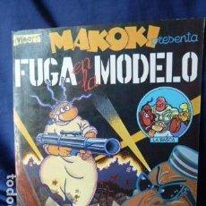 Cómics: MAKOKI PRESENTA LA FUGA EN LA MODELO. Lote 157971410