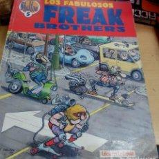 Fumetti: LOS FABULOSOS FREAK BROTHERS OBRAS COMPLETAS SHELTON Nº 5 CÚPULA AÑO 1989. Lote 158129554