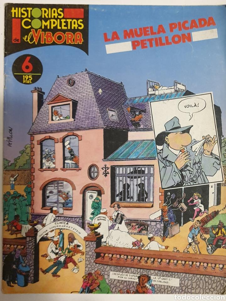 LOTE 6 HISTORIAS COMPLETAS EL VIBORA (Tebeos y Comics - La Cúpula - El Víbora)