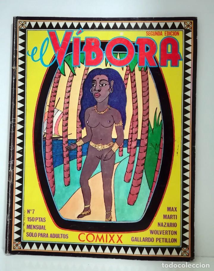 EL VÍBORA Nº 7 1980 (Tebeos y Comics - La Cúpula - El Víbora)
