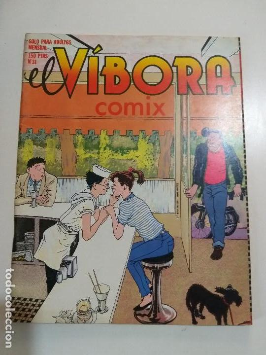 EL VIBORA - COMIX 3 - LA CUPULA - CEESEPE, NAZARIO, ONLIYU, BURNS, SHELTON (1982) COMIC UNDERGROUND (Tebeos y Comics - La Cúpula - El Víbora)