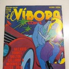 Cómics: EL VÍBORA Nº 16 (1980) - COMIX - MENSUAL - 2A EDICION - NAZARIO TORRES SHELTON GALLARDO MEDIAVILLA. Lote 160801654