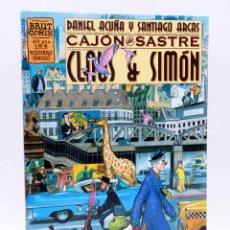 Cómics: BRUT COMIX. CLAUS & SIMÓN. CAJÓN DE SASTRE (DANIEL ACUÑA / SANTIAGO ARCAS) LA CÚPULA, 2001. OFRT. Lote 211638213
