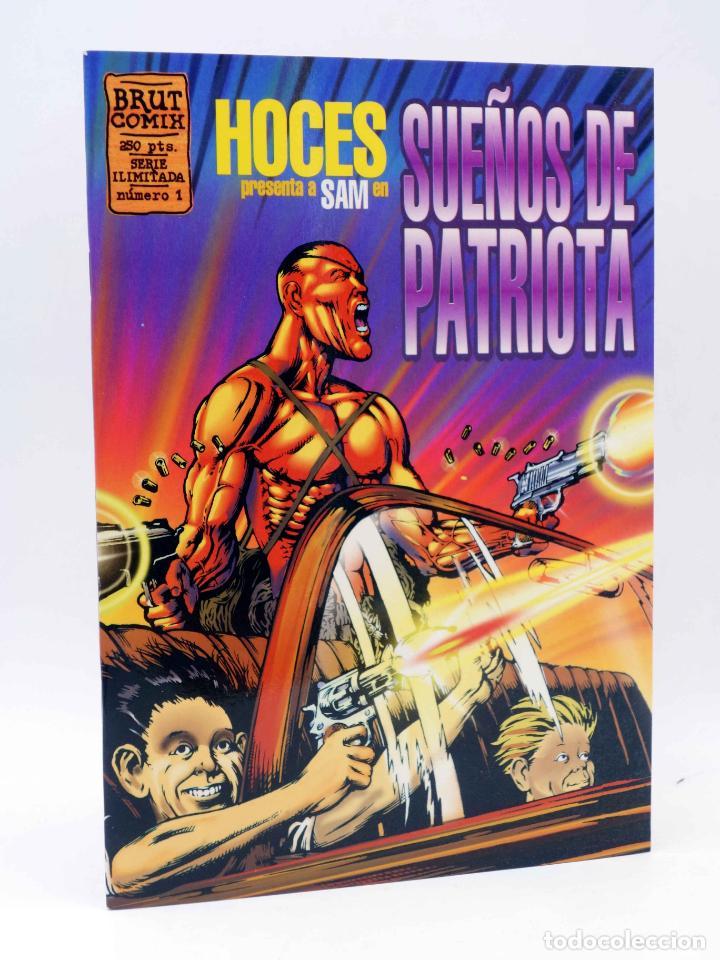 BRUT COMIX. SUEÑOS DE PATRIOTA (HOCES) LA CÚPULA, 1995. OFRT (Tebeos y Comics - La Cúpula - Autores Españoles)