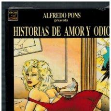 Cómics: HISTORIAS DE AMOR Y ODIO -EDICIONES LA CÚPULA- NUEVO,SIN ABRIR.. Lote 210033510