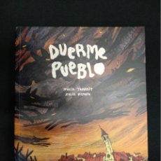Fumetti: DUERME PUEBLO - NURIA TAMARIT - XULIA VICENTE - LA CUPULA - . Lote 162693854