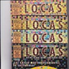 Cómics: LOCAS. DE JAIME HERNÁNDEZ. COMPLETA. Lote 162800170