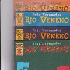 Cómics: RÍO VENENO, DE BETO HERNÁNDEZ. COMPLETA.. Lote 162800238