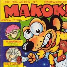Cómics: MAKOKI Nº 6. SUPER DON VITO. WARTHOG. AZAGRA. MEDIAVILLA. SHELTON. EDICIONES LA CÚPULA.. Lote 44648572