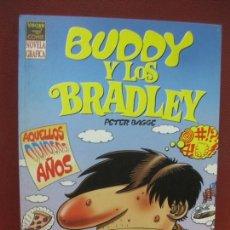 Cómics: BUDDY Y LOS BRADLEY. PETER BAGGE. VIBORA COMIX. NOVELA GRAFICA. EDICIONES LA CUPULA.. Lote 164697986