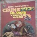 Lote 165326602: OBRAS COMPLETAS CRUMB - Nº 9 - MR. SNOID Y ANGELFOOD McSPADE - EL VIBORA COMIX