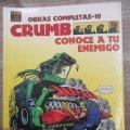 Lote 165326754: OBRAS COMPLETAS CRUMB - Nº 10 - CONOCE A TU ENEMIGO - EL VIBORA COMIX