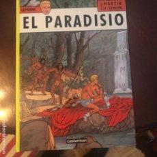 Cómics: EL PARADISIO DE JACQUES MARTIN (FRANCES) ED CASTERMAN. Lote 167018832