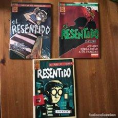 Cómics: EL RESENTIDO - JUACO - BRUT COMIX - NÚMEROS 1, 2 Y 4. Lote 167112948
