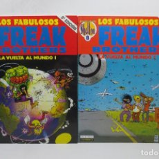 Cómics: FREAK BROTHERS - LA VUELTA AL MUNDO 1 Y 2 (GILBERT SHELTON) . Lote 167632860