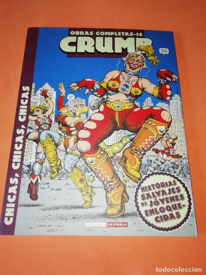 CRUMB. OBRAS COMPLETAS Nº 14 . CHICAS,CHICAS ,CHICAS. LA CUPULA. (Tebeos y Comics - La Cúpula - Comic USA)