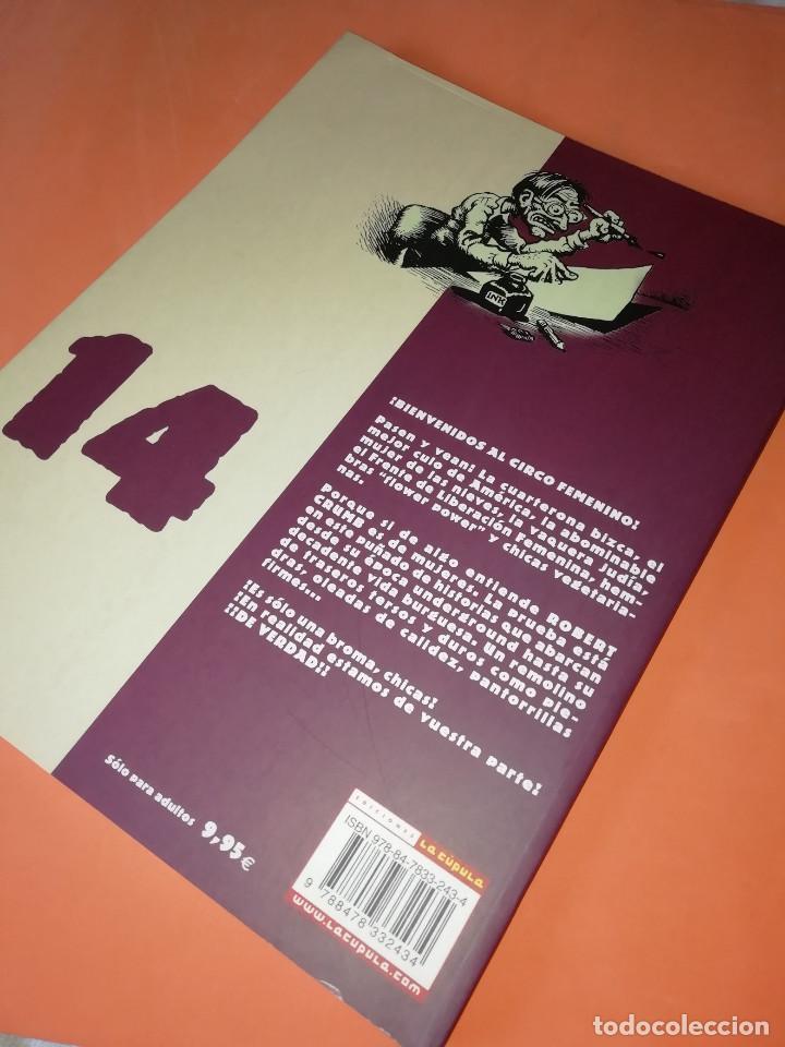 Cómics: CRUMB. OBRAS COMPLETAS Nº 14 . CHICAS,CHICAS ,CHICAS. LA CUPULA. - Foto 2 - 168031120