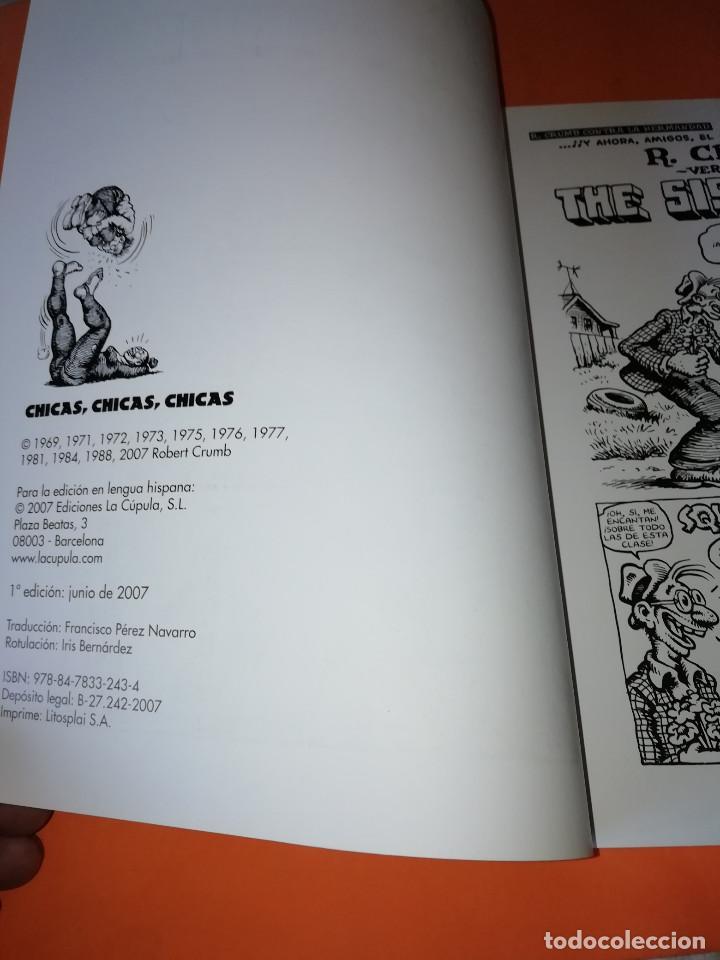 Cómics: CRUMB. OBRAS COMPLETAS Nº 14 . CHICAS,CHICAS ,CHICAS. LA CUPULA. - Foto 4 - 168031120