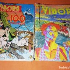 Cómics: EL VIBORA. LOTE DEL Nº 80 AL 100. FALTA EL 88. NO SE VENDEN SUELTOS.. Lote 168724852