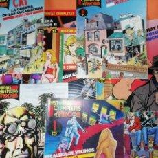 Cómics: LOTE DE 11 HISTORIAS COMPLETAS DE EL VIVORA. Nº 1, 2,6,8,9,11,12,15,32,36 Y Nº 1 VIVORA COMIX. Lote 154928122