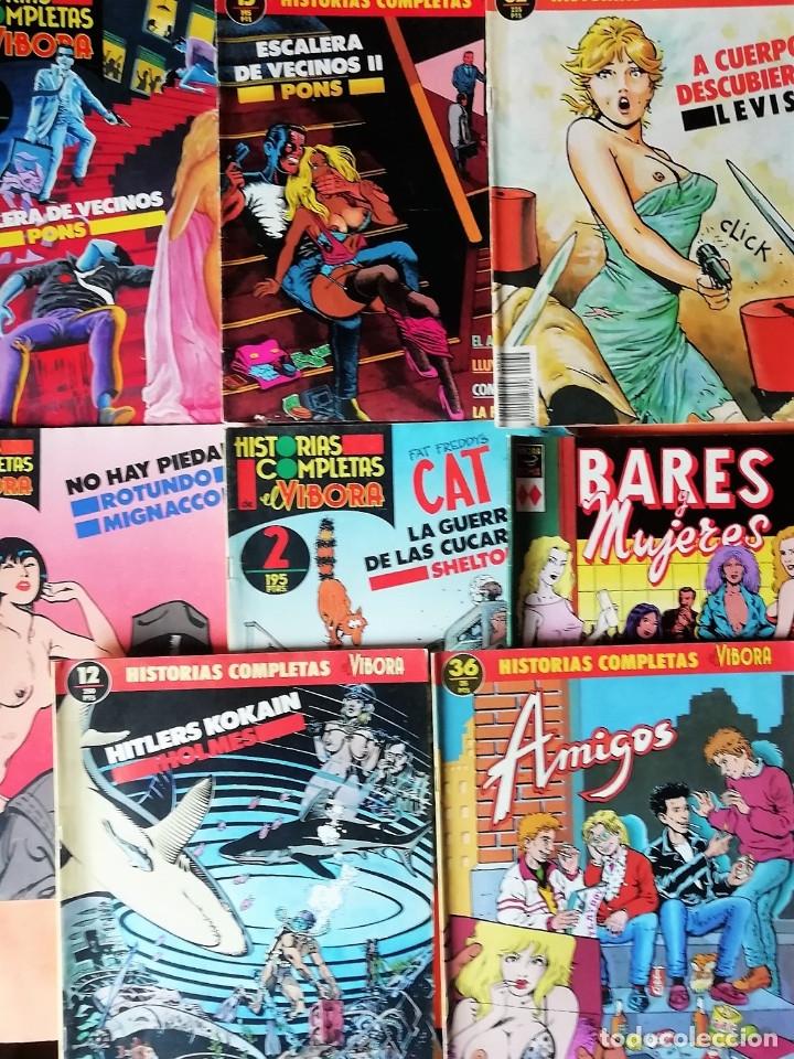 Cómics: LOTE DE 11 HISTORIAS COMPLETAS DE EL VIVORA. Nº 1, 2,6,8,9,11,12,15,32,36 Y Nº 1 VIVORA COMIX - Foto 3 - 154928122