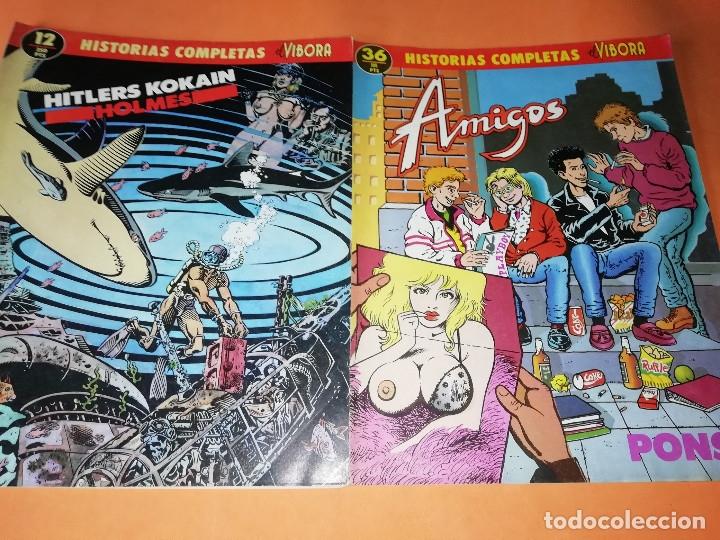 Cómics: LOTE DE 11 HISTORIAS COMPLETAS DE EL VIVORA. Nº 1, 2,6,8,9,11,12,15,32,36 Y Nº 1 VIVORA COMIX - Foto 6 - 154928122