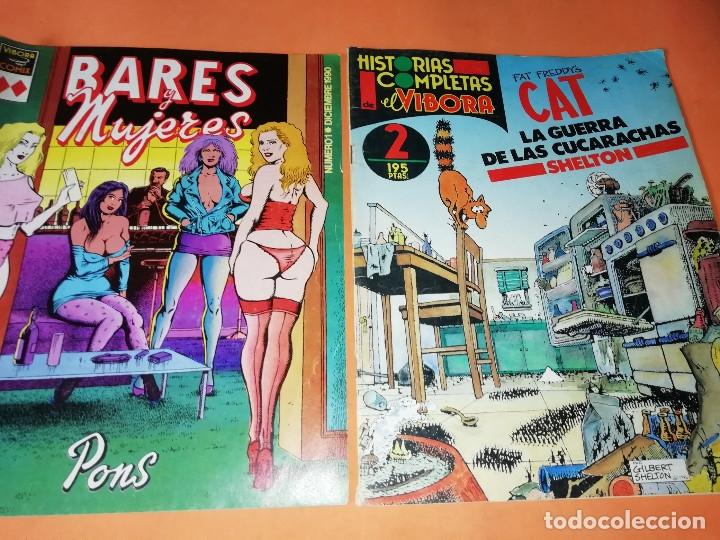 Cómics: LOTE DE 11 HISTORIAS COMPLETAS DE EL VIVORA. Nº 1, 2,6,8,9,11,12,15,32,36 Y Nº 1 VIVORA COMIX - Foto 8 - 154928122