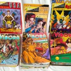Cómics: GRAN LOTE EL VIBORA 37 REVISTAS - 33 NORMALES CON 35 NÚMEROS MÁS 4 ESPECIALES - LEER DESCRIPCION. Lote 168919968