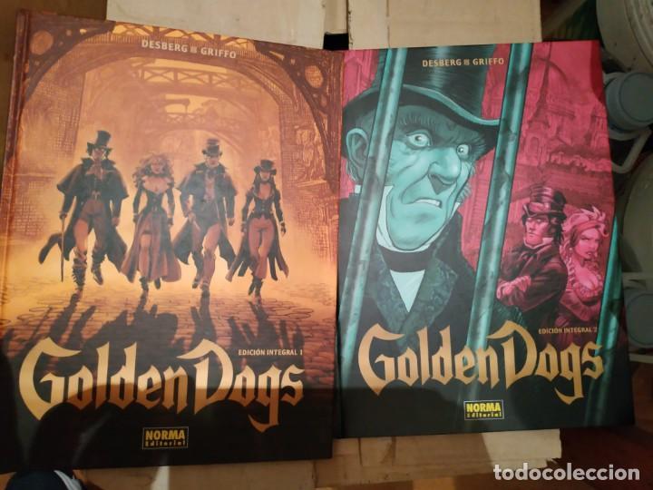 GOLDEN DOGS. INTEGRAL 2 TOMOS. (Tebeos y Comics - La Cúpula - Comic Europeo)