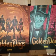 Cómics: GOLDEN DOGS. INTEGRAL 2 TOMOS.. Lote 169046360