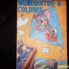 Cómics: MUÑEQUITOS A COLORES N.39 EDIT. SOL MEXICO 1964 -RARO . Lote 169243408