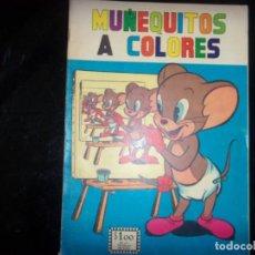 Cómics: MUÑEQUITOS A COLORES N.47 EDIT. SOL MEXICO 1964 -RARO TIPO NOVARO/LA PRENSA. Lote 169243424