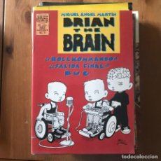 Cómics: MIGUEL ÁNGEL MARTÍN - BRIAN THE BRAIN Nº 3 - BRUT COMIX LA CÚPULA 1995. Lote 169525752
