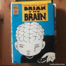Cómics: MIGUEL ÁNGEL MARTÍN - BRIAN THE BRAIN Nº 4 - BRUT COMIX LA CÚPULA 1997. Lote 169526244