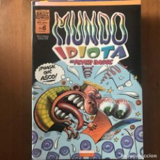 Cómics: PETER BAGGE - MUNDO IDIOTA Nº 6 - BRUT COMIX LA CÚPULA 1998. Lote 169626480