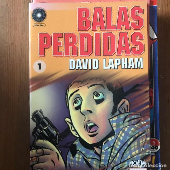 DAVID LAPHAM - BALAS PERDIDAS Nº 1 - EL CAPITÁN LA CÚPULA 1998 (Tebeos y Comics - La Cúpula - Comic USA)