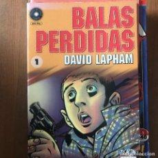 Cómics: DAVID LAPHAM - BALAS PERDIDAS Nº 1 - EL CAPITÁN LA CÚPULA 1998. Lote 169627252