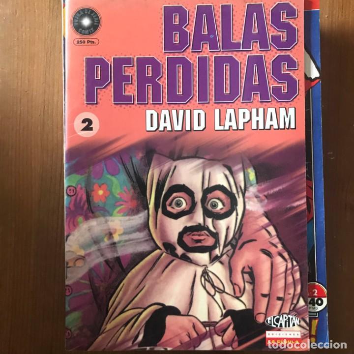 DAVID LAPHAM - BALAS PERDIDAS Nº 2 - EL CAPITÁN LA CÚPULA 1998 (Tebeos y Comics - La Cúpula - Comic USA)