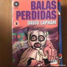 Cómics: DAVID LAPHAM - BALAS PERDIDAS Nº 2 - EL CAPITÁN LA CÚPULA 1998. Lote 169627292