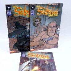 Cómics: FUERA DE SERIE COMIX. LA SIBILA 1 2 3. COMPLETA (QUIM BOU) LA CÚPULA, 2000. OFRT. Lote 207067305
