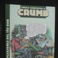 Cómics: CRUMB. OBRAS COMPLETAS. TOMO 15. LA CÚPULA. Lote 170135308