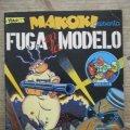 Lote 170917225: MAKOKI - FUGA EN LA MODELO - GALLARDO & MEDIAVILLA - EDICIONES LA CUPULA