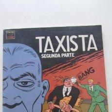 Comics: VÍBORA COMIX. TAXISTA. SEGUNDA PARTE. MARTÍ RIERA. LA CÚPULA CX16. Lote 171347337