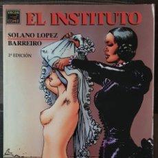 Cómics: EL INSTITUTO DE SOLANO LOPEZ Y BARREIRO. 2ª EDICIÓN. EDICIONES LA CUPULA 1993. Lote 171427183